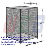 Wholesale Stainless steel large expanded metal dog kennel/dog cage/dog run from china suppliers