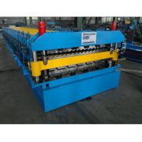 Wholesale Double Layer Roll Forming Machine for Corrugated Roof and IBR Roof in One Line from china suppliers