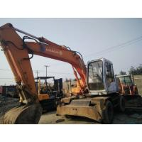 Wholesale used excavator for sale original paint colour WHEEL excavator from china suppliers