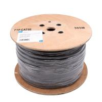 Wholesale Category 5e FTP Ethernet cable / 24AWG cat5e lan cable Grey PVC from china suppliers