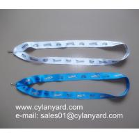 Wholesale V shape sublimation ribbon for medal, V sublimated lanyard to medals from china suppliers