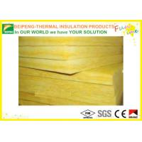 Wholesale Stable Thermal fireproof Insulation Glass Wool in Yellow for buildings sound absorption from china suppliers