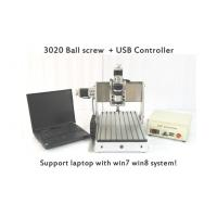 Wholesale 3 Axis Laptop Mini CNC Router , Ball Screw CNC Router Machine USB CNC3020B from china suppliers