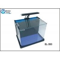 Wholesale Glass Mini Coffee Table Aquarium Fish Tank With Super Clear Black Extra Model from china suppliers