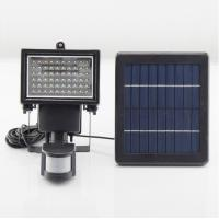 Wholesale 60LED Solar Steet Lamp PIR Motion Sensor Lights 100% Solar Powered Outdoor Emergency Lighting from china suppliers