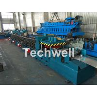 Wholesale Galvanized / Carbon Steel CZ Shaped Roll Forming Machine For 0-15m/min Forming Speed from china suppliers