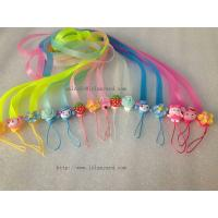 Wholesale High Quality Factory Directly Wholesale Cute Silicone Cell Phone Strap, Slicone Lanyard from china suppliers