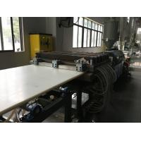 Wholesale 30-300mm PP/PE/PA/ABS/POM super solid plank /sheet/board extrusion machine from china suppliers