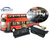 Buy cheap TCP/IP server Wireless 3G 4G WIFI dialing bus people counter 4ch MDVR system from wholesalers