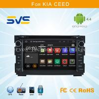 China Android 4.4 car dvd player GPS navigation for KIA CEED 2006-2012 with dvd/vcd/cd/mp3/cd-r on sale