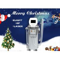 Wholesale 4 In 1 Multifunction RF Elight IPL ND YAG Laser Machine For Hair / Tattoo Removal from china suppliers