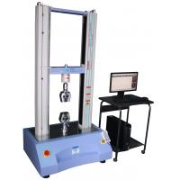 Buy cheap 100N To 50KN Servo Control Plastic / Rubber Tensile Universal Test Machine from wholesalers