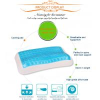 Supply all kinds of memory beauty pillow,bamboo fiber material memory gel foam pillow