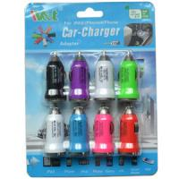Wholesale Iphone / Ipad USB Car Chargers 5V 1A , Portable Mobile Charger Adapter from china suppliers