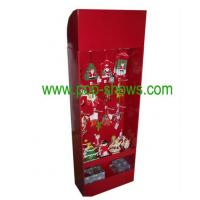 Wholesale Hook Style Greeting Card POP Cardboard Displays Stand for Promotion from china suppliers