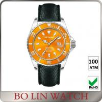 Quality Automatic Movement Deep Sea Diving Watches , 100ATM Sapphire Glass Watch for sale