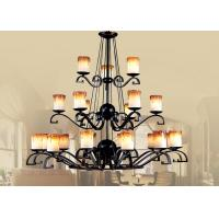 Wholesale Candle Traditional Large Hotel Chandeliers from china suppliers