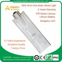 Wholesale Top Manufacturer Integrated LED Solar Street Light for Outdoor Lighting from china suppliers