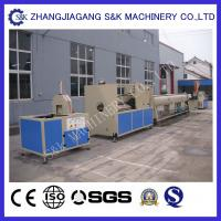 Double Outlet PVC Pipe Extrusion Machine Plastic , PVC Tube Extruder Machine16 - 63Mm