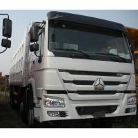 Wholesale 371Hp Sinotruck HOWO Truck Left Hand Driving Type 8X4 with cargo body 30 CBM from china suppliers