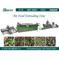 Wholesale Dog / bird / fish pet Pet Food Extruder Production Line 800-1000kg/hr 200kw from china suppliers