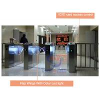 Wholesale IC / ID Card RFID Turnstile Access Control Automatic Flap Barrier Gate from china suppliers