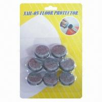 Wholesale Felt with Nail Floor Protectors/Furniture Accessories, Used to Protect Floor and No Damage to Floor from china suppliers