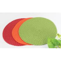 Buy cheap Woven round dining placemat , dining table mat from wholesalers