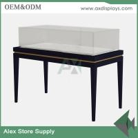 Quality luxury jewellery display counter glass showcase classical design store jewelry counter for sale