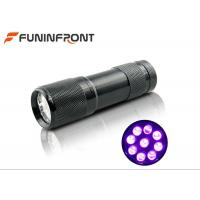 Wholesale 395nm Ultraviolet Pet UrineDetector 9 LED Black Light LED Flashlight from china suppliers