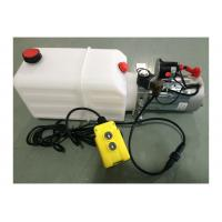 Wholesale Dump Trailer Hydraulic Power Pack Plastic Tank , DC 12V 2000W from china suppliers