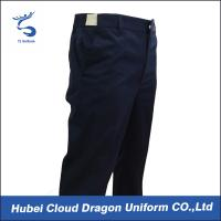 Buy cheap Adjustable Waistband Work Uniform Pants With Dark Navy / Law Enforcement Duty Pants from wholesalers