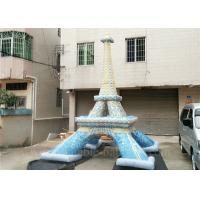 Wholesale Commercial Mini Inflatable Eiffel Tower Customized Lead Free Inflatable Replica from china suppliers