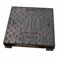 Wholesale Ductile Cast Iron Heavy Duty Manhole Covers Telecom Manhole Cover Square from china suppliers