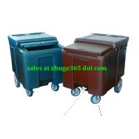 Wholesale Premium Plastic SW-H112 Brown Grey 112Litre Ice Cart for hotels from china suppliers