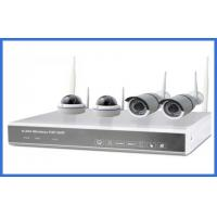 Buy cheap 1/4 Indoor And Outdoor Cameras Realtime 1.3mp 4ch Wireless IP Kits High Resolution from wholesalers