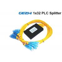 Wholesale 1x32 Way Fiber Optic Beam Splitter Module In FTTH And GEPON System Mini Box from china suppliers