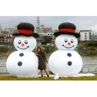 Wholesale Happy And Attractive Inflatable Holiday Decorations with  Snow man from china suppliers