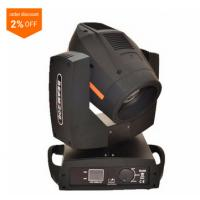 Quality DMX512 200w Beam Moving Head Wash Light 8 Prism 16ch Double Rotation Rainbow Effect for sale