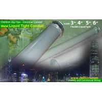Buy cheap smooth pvc coated metal Liquid tight conduit METRIC PG THREAD LIQUID TIGHT connector for industry wiring from wholesalers
