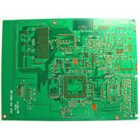 Buy cheap FR-4 1 - 18 layers Multilayer PCB board 1.6mm Thickness , 0.076mm ( 3mil ) UL , ROHS from wholesalers
