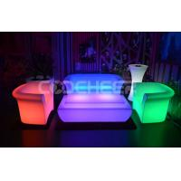 Wholesale Fireproof Glow Outdoor Furniture Light Up Sofa Bed Living Room from china suppliers