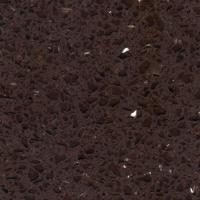 Wholesale Flooring Tiles Solid Surface Artificial Quartz Stone kitchen countertop with Brown Mirror from china suppliers