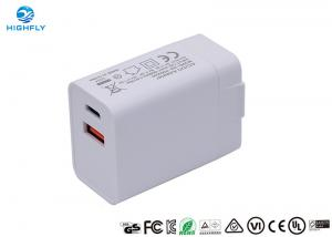 Wholesale PD QC3.0 Charging Quick Dual USB 18W Universal Travel Charger from china suppliers