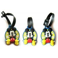 Wholesale Strong Sticky Personalised Magnets, Key Buckle, Luggage Tag with Printing Paper+PP Film from china suppliers