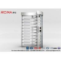 Wholesale High Security Full Height Turnstile Access Control 30 Persons / Minute Transit Speed from china suppliers