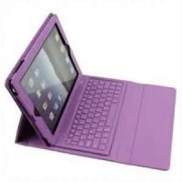 Wholesale Simple smart customed for iPad3 Bluetooth keyboard case With LED indicators for travellers from china suppliers