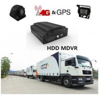 Buy cheap 4G H.264 Real-time HDD 4Ch 720P AHD Mobile DVR For Truck / Bus / Taxi from wholesalers