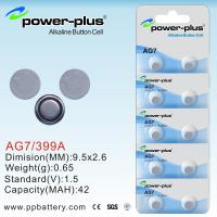 Wholesale AG Series button cells batteries  use Torches  G7/399A/1.5V  from china suppliers