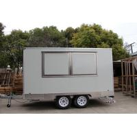 Wholesale Window Customized Mobile Food Caravan Catering Van For Commercial Using from china suppliers